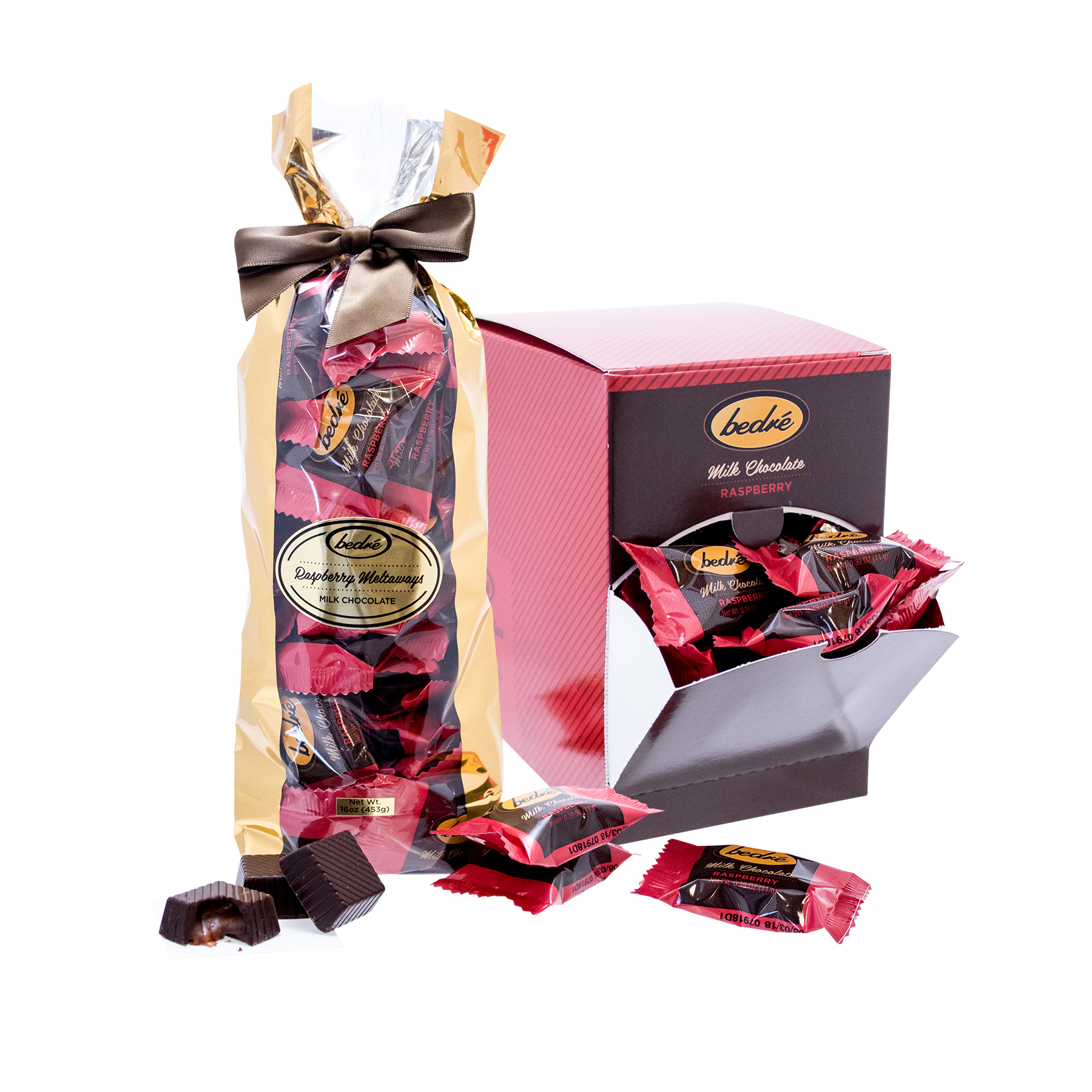 Bedre Chocolate Milk Chocolate Raspberry Meltaway